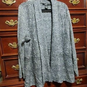89th & Madison Open Sweater Size 3X